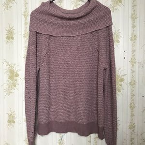 Free People Oversized Cowl Neck Sweater